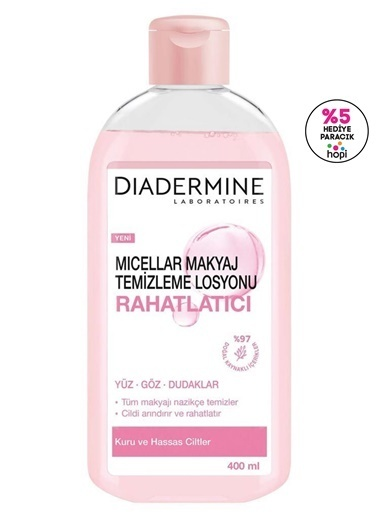Diadermine Diadermine Mıcellar Makyaj Temizleme Losyonu Rahatlatıcı 400 Ml Saks